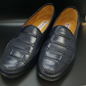 Sandro Moscoloni Mens Lance Loafers, navy
